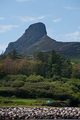 An Sgurr rising over Eigg