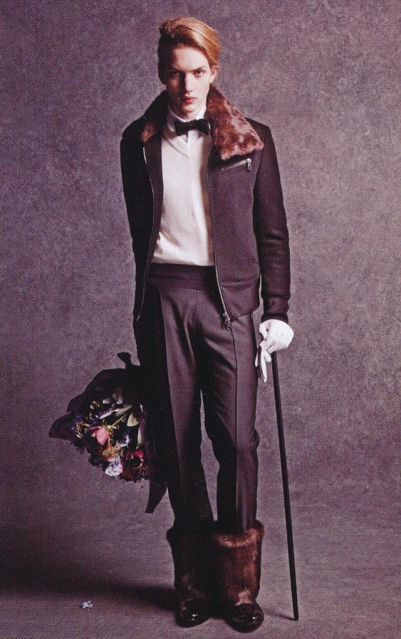 Paul Boche0148_Amphitrite Melan FW07(Fashion News125_2007_07)