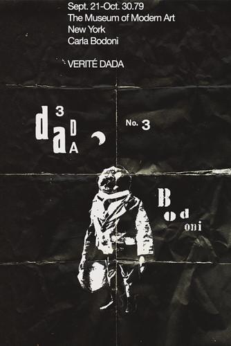 1979. Carla Bodoni en el MoMA. Verité Dada by Fundación Rara Avis
