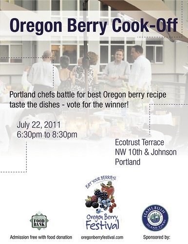 Portland Chef Competition @ Oregon Berry Festival