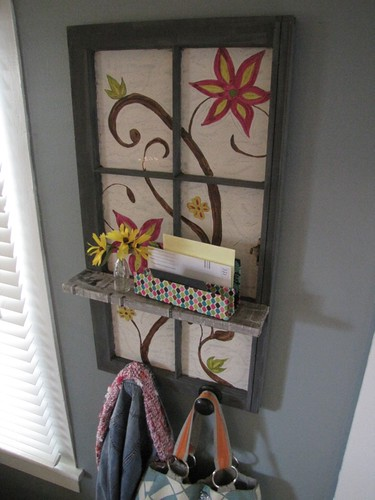 Window Coat Rack