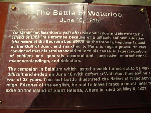 Grevin Battle of Waterloo