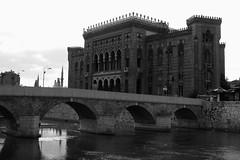 Vijenica (MyBukit) Tags: city travel bridge history architecture hall sarajevo bosnia capital center federation hercegovina balkan baarija vijenica pak