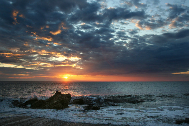 Seaham sunrise seascape