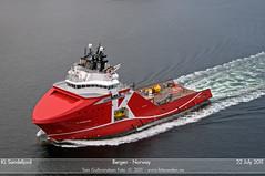 KL Sandefjord (Aviation & Maritime) Tags: norway offshore tug bergen supply kline ahts klineoffshore klsandefjord
