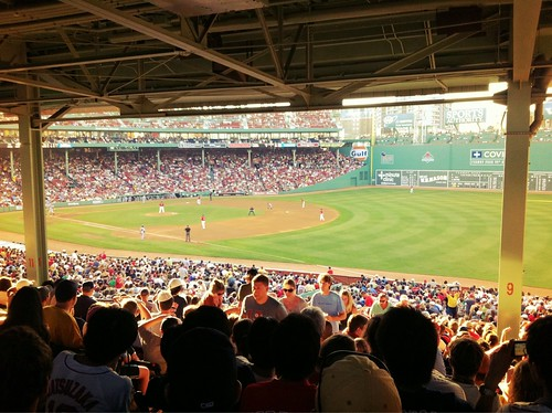 The View From My Seat: Fenway Park - Red Sox - Mariners - #Yearofbaseball