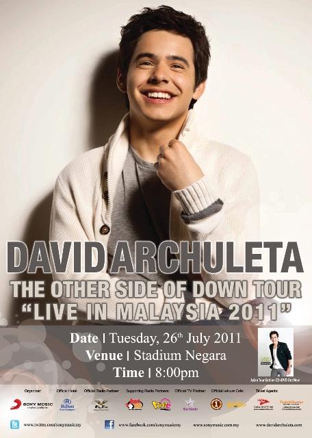 David Archuleta Concert Poster