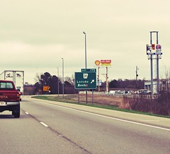 for beeb. (kleine_moewe) Tags: roadsign arkansas beeb lonoke beebe