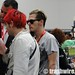 Gerard Way and Mikey Way shopping at Comic Con
