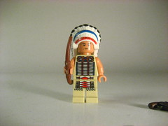 lego native American (Epac1998) Tags: wild people west town lego painted indian s off western bandit conquistador bandito sawed brickarms