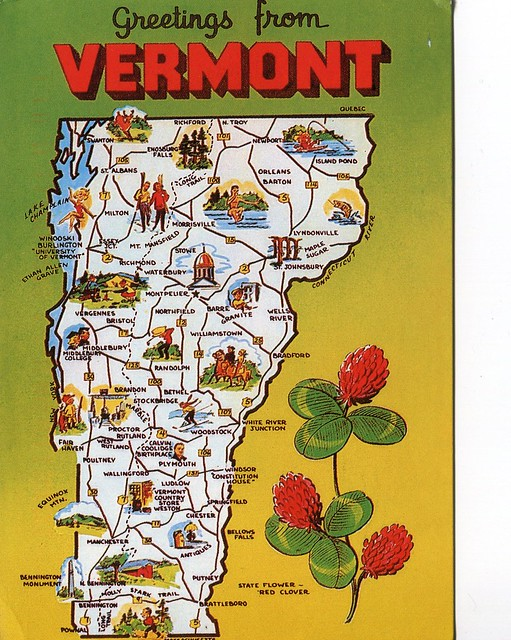 Vermont, Green Mountain State