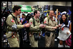 SDCC 2011 - Ghostbusters