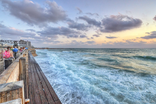 Sunset -  Tel Aviv Harbor (HDR)