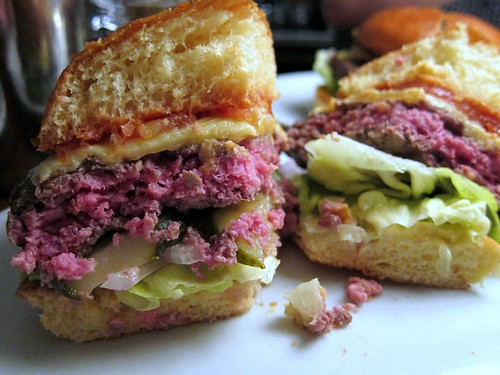 Hawksmoor Hamburger Innards