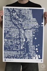 CityFabric Chicago Print