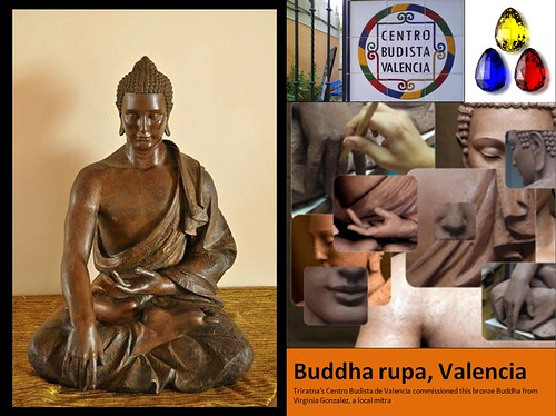 February - Valencia's new Buddha rupa by Triratna Photos