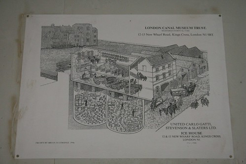 Drawing of the original building