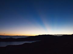 Sunset-Isla Del Sol-Lake Titicaca-Bolivia (mikemellinger) Tags: sunset sun laketiticaca southamerica nature water beauty landscape scenery bolivia rays lagotiticaca isladelsol sunisland