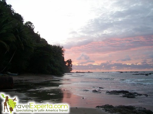 Sunset on Cano Island Costa Rica