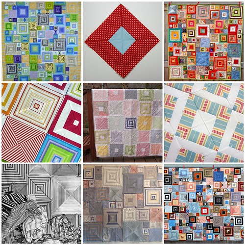 Shirt Stripe Boxes Quilt Inspiration by McGinty & Me