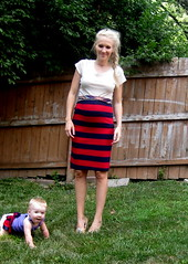 waddle friendly maternity skirt