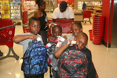 TARGET PHOTOS 154 (The Salvation Army Chicago Metropolitan Division) Tags: salvationarmy target backtoschool shoppingspree chicagoschoolstudents