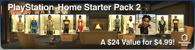 PlayStation Home Starter Pack 2