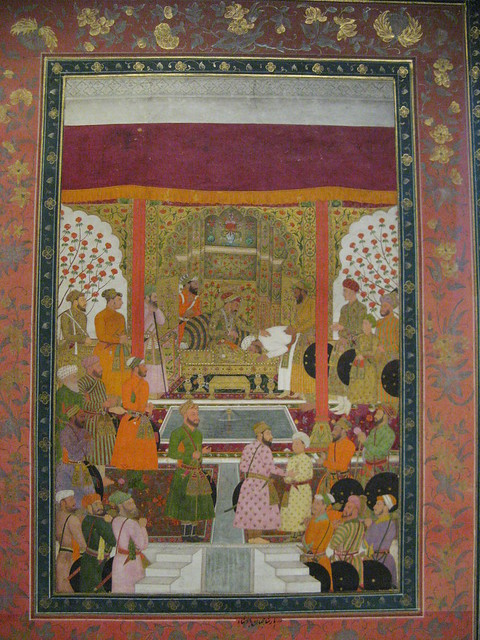 Shah Jahan Accepts Tribute From Vassal, Pergamon Museum, Berlin