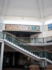UOG Business Building Mural by Greg Flores