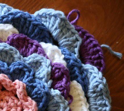 corner dishcloth