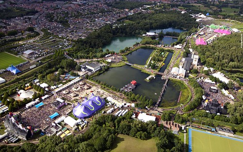 Tomorrowland 2011 - Wallpaper (1920x1200) - Aerial View