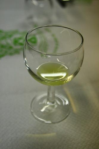 Limoncello at Enoteca Corsi