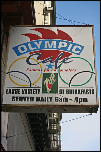 Olympic cafe