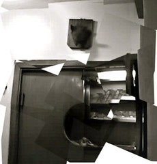 varmint (purits) Tags: blackandwhite bw italy rome kitchen animal restaurant head taxidermy mounted unknown trophy wtf