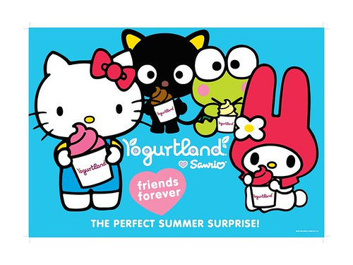 Yogurtland Sanrio Promotion - Summer 2011