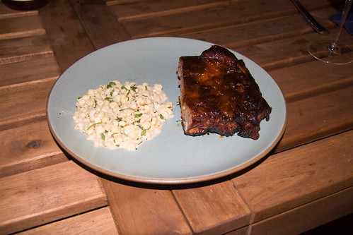 Spare Ribs and Corn Slaw