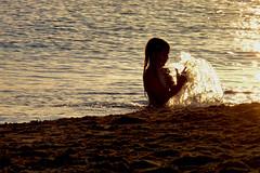 Another overwhelming sunset (Andrea Brandino) Tags: sunset sea beach water tramonto mare acqua spiaggia sicilia controluce isola riflesso delle correnti