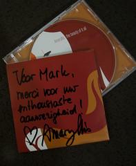 The Beauty of it All (M@rkec) Tags: cd amaryllis muziek signed singersongwriter vlaanderen vl actrice bonheiden getekend zomerzondagen thebeautyofitall krankhoeve 310711