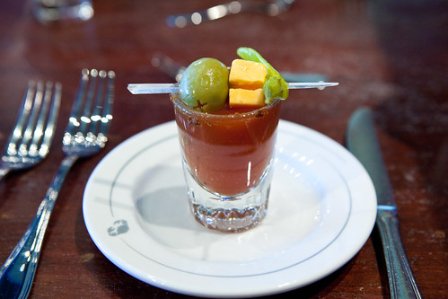 Signature Bloody Mary shooter