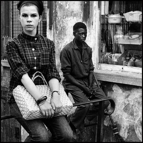 black and white in Paris