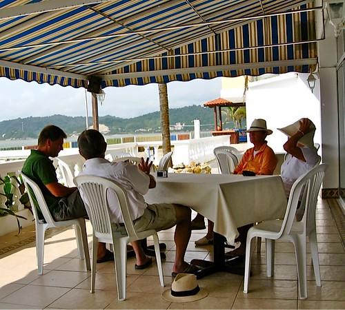 Bahia Terrace dining