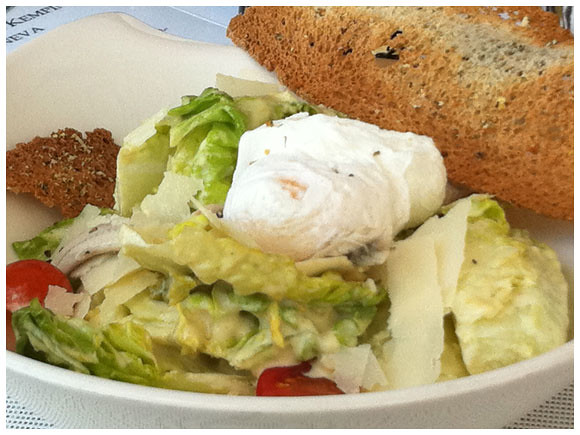 Kempinski Caesar Salad - The Geneva Foodie