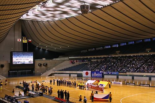 フットサル日本代表vsフットサルチェコ代表