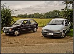 JB & Cavalier (elstro_88) Tags: nova cavalier 1991 1980s 1990s vauxhall
