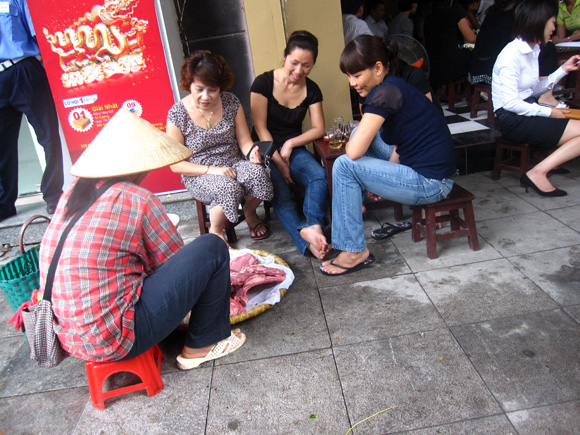 Vietnamese Coffee on the Streets