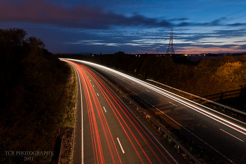 Light trails by TCR4x4