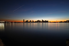 Distant Lights of New Jersey (Geraint Rowland Photography) Tags: new york nyc usa architecture america newjersey skyscrapers manhattan geraintrowland americantravelphotography