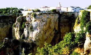 SPANIEN - Blick auf Ronda  - 6027/2711
