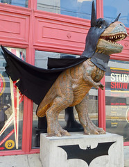 Batman Dinosaur in Pittsburgh - Dino Bat (Anirudh Koul) Tags: dark pittsburgh batman knight rex magnus rises dinasour darknightrises magnusrex