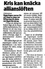 Maud Olofsson om restaurangmoms